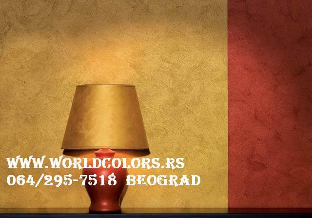 africa- dekorativni premaz za zidove uenterijeru